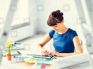 A dekoratőr tanfolyam során elsajátítod a tervezési alapokat.