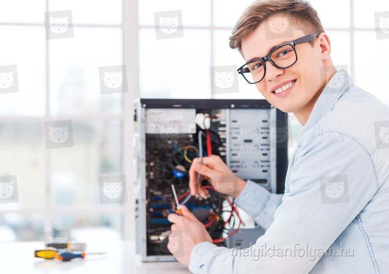 A számítógép szerelő tanfolyam során elsajátíthatod a legfontosabb technikai tudást.