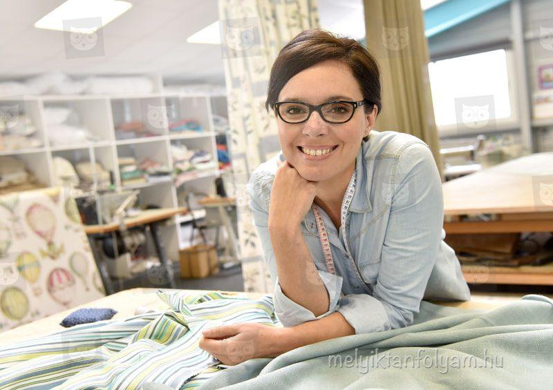 A lakástextil készítő tanfolyam során elsajátíthatod a legfontosabb varrási techikákat